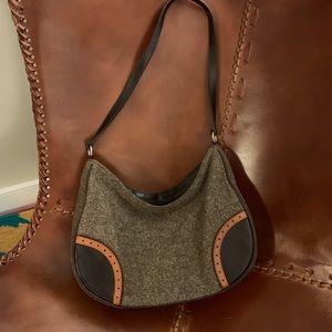 Express Tweed Shoulder Bag